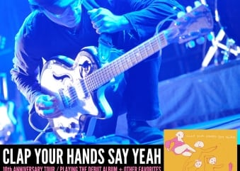 Concert Review: Clap Your Hands Say Yeah