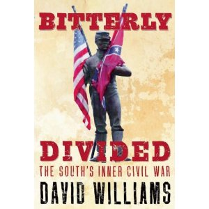 Bitterly Divided: The South's Inner Civil War: by David Williams