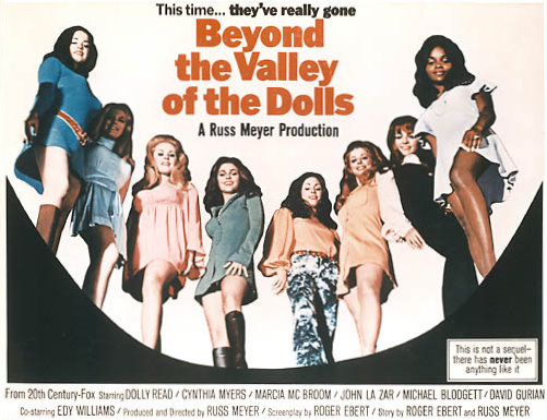 Guilty Pleasure: Beyond the Valley of the Dolls (1970)