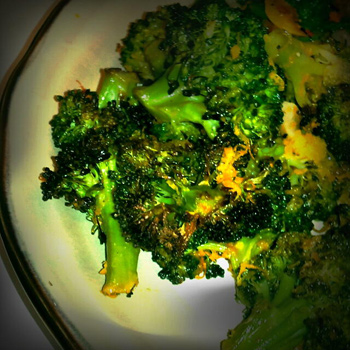 Roasted Orange Broccoli