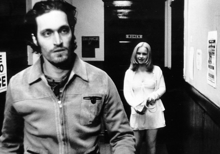 Buffalo 66 hallway - Vincent Gallo and Christina Ricci