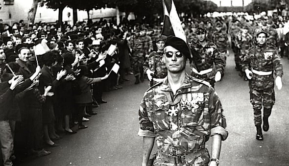 gillo pontecorvos the battle of algiers essay Saadi yacef (born january 20  making him one of the leaders on the algerian side in the battle of algiers,  pontecorvos intended effect was the casbah-as-chorus.