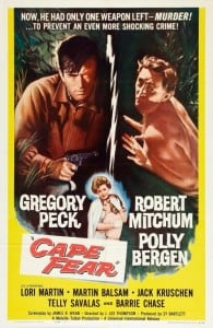 Cape Fear 1962 - Gregory Peck, Robert Mitchum