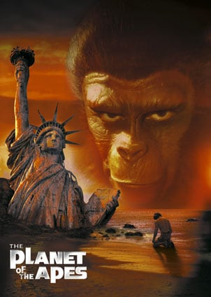 Planet of the Apes movies: 1968 vs. 2001