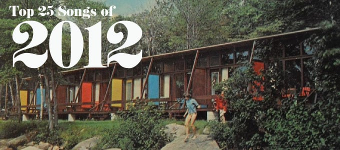 Top 25 Songs of 2012