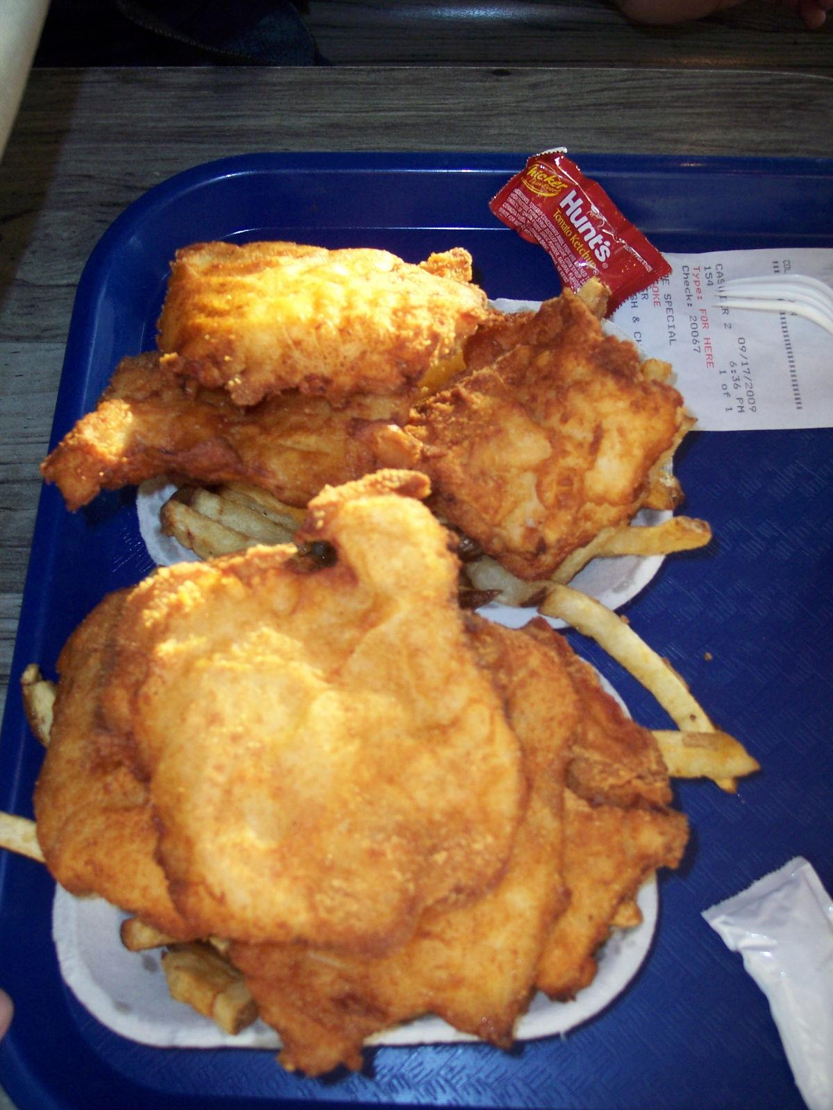 Spud s fish and chips alki beach seattle wa for Spuds fish and chips
