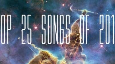 Top 25 Songs of 2013