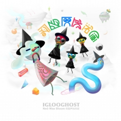 IGLOOGHOST: Neō Wax Bloom