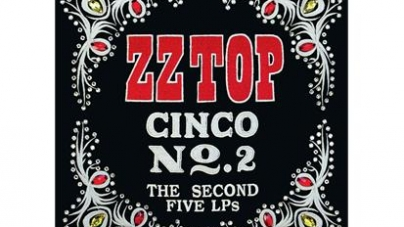 ZZ Top: Cinco No. 2: The Second Five LPs