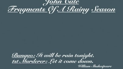 John Cale: Fragments of a Rainy Season