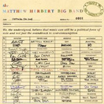 The Matthew Herbert Big Band: There's Me and There's You