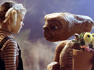 E.T. and Drew Barrymore