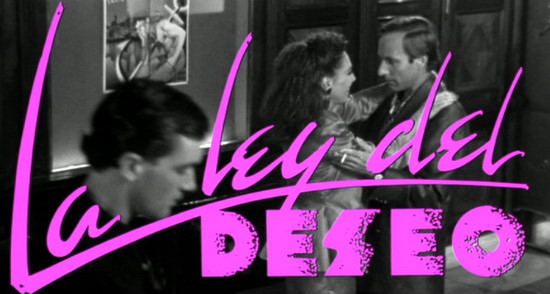 Oeuvre: Almodóvar: Law of Desire