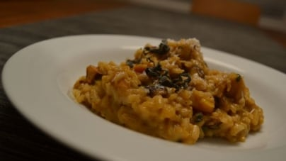 Spectrum Seasonal: Pumpkin Risotto with Wild Mushrooms and Sage
