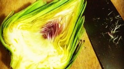 Twitter Challenge: Eggs, Artichokes, Saffron and Kale