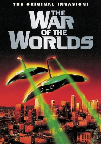The War of the Worlds 1953 movie poster