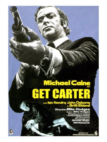 get carter michael caine 1971 poster