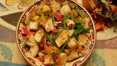 The New Stuffing: Harvest Panzanella