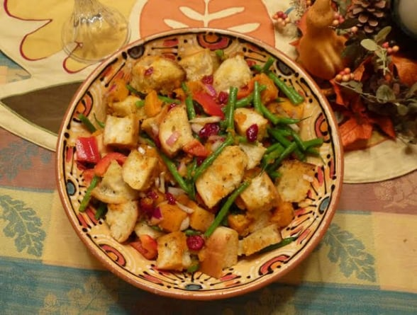 The New Stuffing: Harvest Panzanella