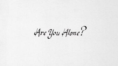 Majical Cloudz: Are You Alone?