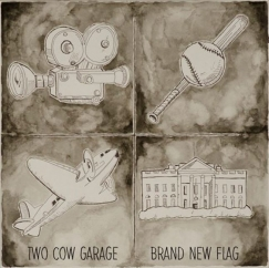 Two Cow Garage: Brand New Flag