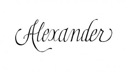 Alexander: Alexander