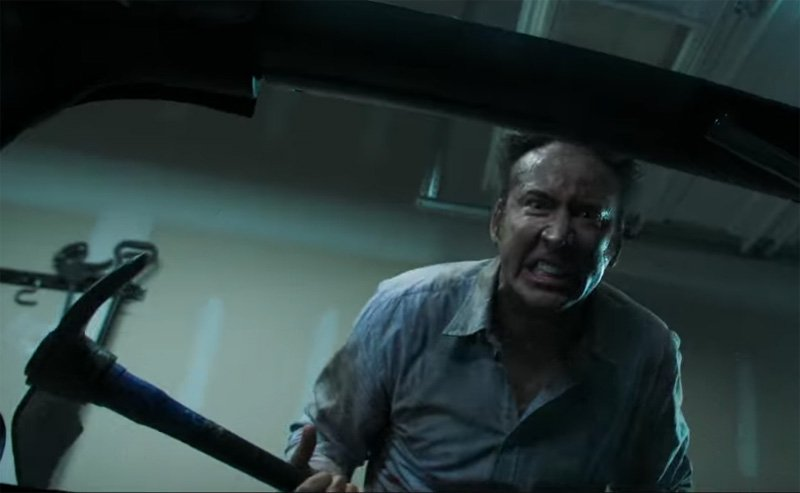 Nicolas Cage in Mon and Dad