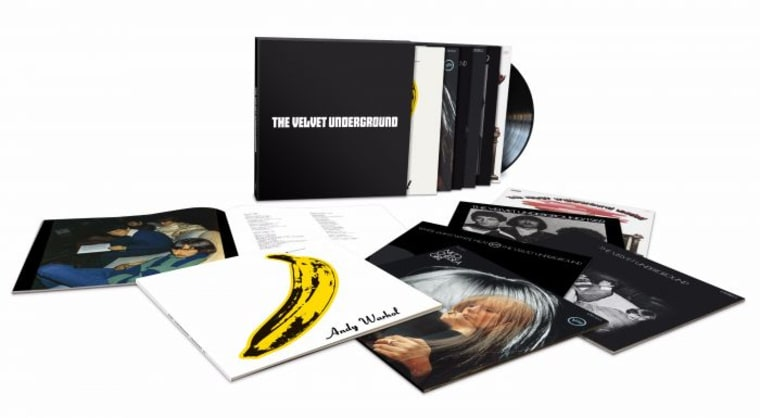 The Velvet Underground - 50th Anniversary Stereo LPs Vinyl Box