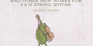 Glenn Jones: The Giant Who Ate Himself and Other New Works for 6 & 12 String Guitar