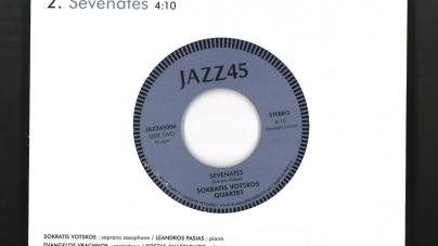 Sokratis Votskos Quartet:  Almopian Etude / Sevenates