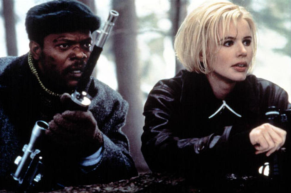 The Long Kiss Goodnight: Samuel L. Jackson and Geena Davis
