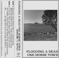 Flogging A Dead One Horse Town: Flogging A Dead One Horse Town EP
