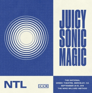 The National: Juicy Sonic Magic, Live in Berkeley Sept. 24-25, 2018