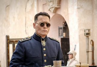 Johnny Depp in Waiting for the Barbarians