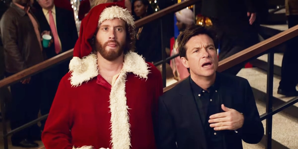 TJ Miller and Jason Bateman in Office Christmas Party
