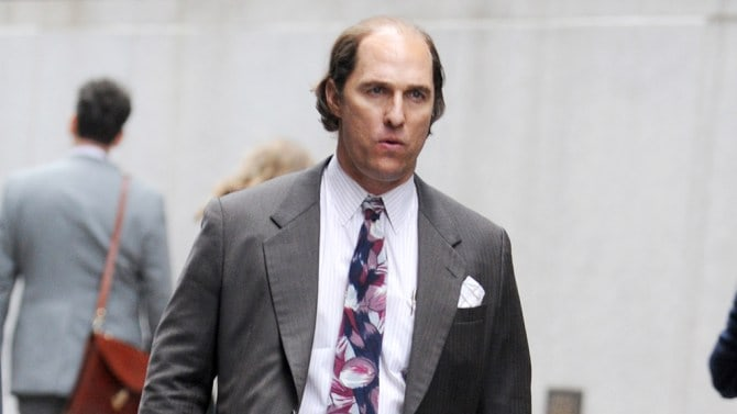 MatthewMcConaughey in Gold