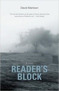 Reader's Block: by David Markson